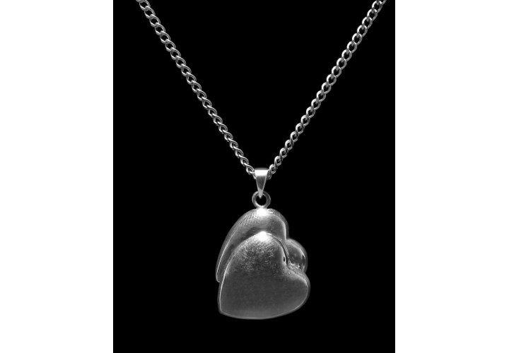 Sterling Silver Companion Heart Cremation Pendant #36-512
